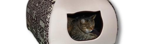 Domek dla kota w rozmiarze 2