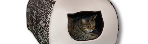Domek dla kota w rozmiarze 1